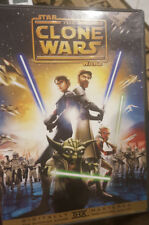 STAR WARS ANIMATED CLONE WARS MOVIE RARE DELETED SINGLE DISC EDITION CARTOON DVD