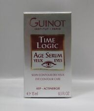 Guinot Time Logic Age Serum Yeux Eyes - 0.5 oz / 15 ml - New in Box