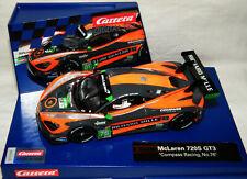 """Carrera Digital132""""McLaren 720S GT3 #76-Compass Racing-30893""""1:32"""
