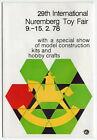 "Vintage Foreign Brochure: ""29th International Nuremberg Toy Fair 9.-15. 2. 78"""