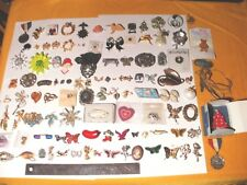Vintage Collectible Pinback Collection- Over 100