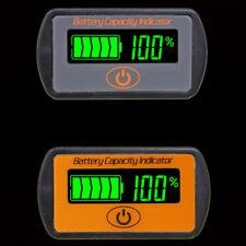 LCD Battery Capacity Voltmeter Tester Indicator 12V 24V Lead-acid Lithium Cell