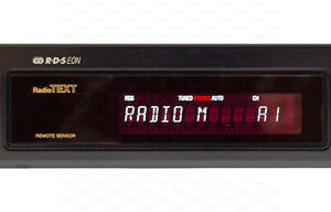 Denon TU-425RD 2-Band AM-FM Stereo Tuner RDS Black High Quality Vintage Radio