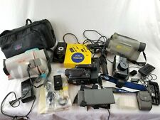 Sony CCD-TR81 Video Hi8 Handycam Camcorder LOT case dc-s10 canon sk-10 AS-IS