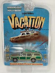 Greenlight GREEN Machine WAGON QUEEN FAMILY TRUCKSTER Nat Lampoons Vacation CHAS