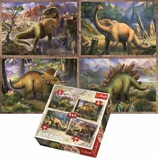 Trefl Dinosaurs T-rex 4 in 1 Jigsaw Puzzle 34245 35 48 54 70