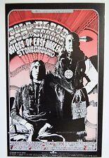 Original 1970-1971 Bg- 264 Postcard Cold Blood Boz Skaggs Calendar Back