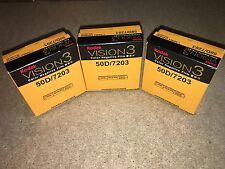 3 ROTOLI KODAK v3 SUPER 8mm Colore pellicola negativa 50d 7203 RIVENDITORE UFFICIALE