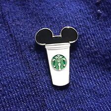 Mickey Starbucks Cup Enamel Pin