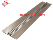 "(100) 2ft Aluminum Omega Radiant Floor Heat Transfer Plates for 1/2"" Barrier PEX"