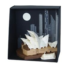 Paper Nano Sydney Opera House - Make Your Own Intricate Laser Cut Paper Model 3D