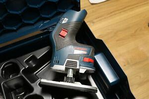 Bosch GKF 12V-8 Professional Akku-Kantenfräse ohne Akku u. Ladegerät in L-Boxx