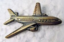 BOEING 767 figural airplane employee tie tack pin tietack