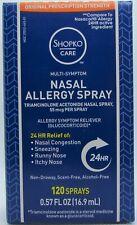 Triamcinolone Acetonide Nasal Spray 24Hr Allergy Relief - 120 Metered Sprays