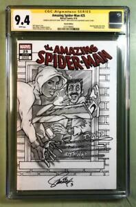 Amazing Spider-man 25, CGC (Signature Series ) 9.4, Original Art Front & Back*