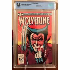 Wolverine #1 CBCS 9.8 ❄️White Pages! 1st Solo Series-1st Yukio not CGC lower $$