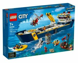 LEGO City Ocean Exploration Ship 60266 *BRAND NEW SEALED IN BOX*