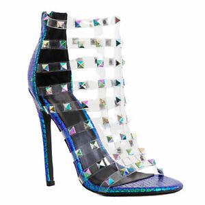 Women's Shoes Sandals Court Shoes Booties Elegant Studs Toocool 2B4L2618-2