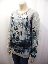 Lange feine Damen-Pullover & -Strickware mit Rundhals-Ausschnitt aus Baumwolle
