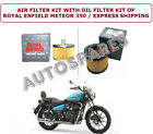 AIR FILTER KIT WITH OIL OF ROYAL ENFIELD METEOR 350