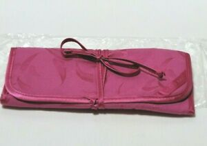 Mary Kay Pink Folding Travel Cosmetic Bag, New