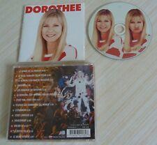RARE DOROTHEE LA HONTE DE LA FAMILLE CD ALBUM 14 TITRES 1996 AB DISQUE