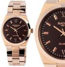Armbanduhr Braun/Rosegold Edelstahl Madison L4793D2 GLAMOR® Fernanda 159,90 UVP
