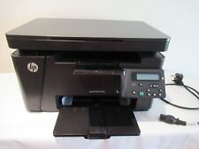 £320 HP LaserJet Pro MFP M125NW scanner Printer wifi full ink cartridge bundle