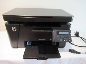 £320 HP LaserJet Pro MFP M125NW scanner Printer wifi full ink cartridge bundle