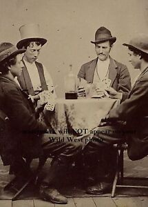 Amazing 1877 Billy the Kid PHOTO Rare Discovery Playing Cards William Bonney