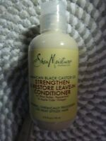 SHEA MOISTURE~~STRENGTHEN & RESTORE~~LEAVE-IN HAIR CONDITIONER 3.2 OZ