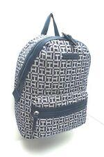 TOMMY HILGER  Backpack *Navy Blue Multi Large Shoulder Bag $98 New