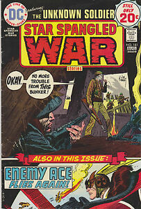 Star Spangled War Stories with The Unknown Soldier #181, Very Fine Condition