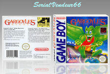 """Boitier du jeu """"GARGOYLE'S QUEST"""", GAME BOY. Nintendo. PAL FR. HD. SANS LE JEU."""