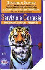 Schede telefoniche rare- private- Esso Tigre n°273-Usata
