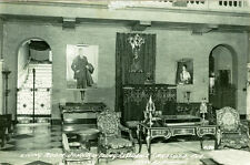 Sarasota,FL. The Living Room at the Ringling Mansion  1949 RPPC