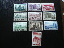 SARRE (allemagne) - timbre - yt n° 306 a 315 n* (A3) stamp germany