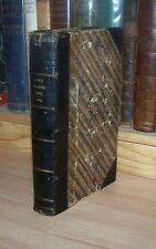 THE BOYS YEARLY BOOK For 1865 ILLUSTRATED Leather Bound