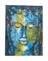 Peinture Da Budda Artista Noto Nepal Artigianale Capolavoro Unica 8484