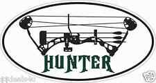 Bow Hunter Deer Wildlife  Decal Sticker ATV Funny Toolbox Car