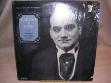 Caruso in Song - 14 Selections Never Before on LP