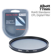 77mm Slim CPL Circular Polarizer Digital Lens Filter for Nikon Canon Sony Camera