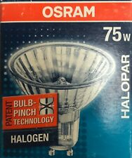 Osram / Radium Halogène Halopar 20 Aluminium 230V 75W GU10 Inondation 30° 64830