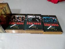 The Sopranos Complete Series Seasons 1 2 3 4 5 Dvd Set Collection Tv Show Box