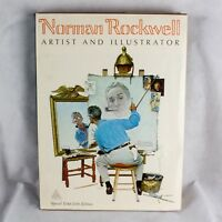 NORMAN ROCKWELL ARTIST AND ILLUSTRATOR 1ST EDITION 1970 BOOK, BY ABRAMS, 11 LBS