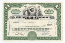 SPECIMEN - General Foods Corporation Stock Certificate