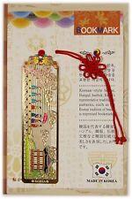 Traditional Korean reader Metal Bookmark - People