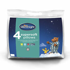Silentnight Supersoft Pillow - 4 Pack