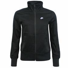 Nike Womens Zip Up Football Fitness Training Jacket Black 452624 010 A92C