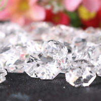 Transparent Beads 14MM Crystal Beads Chandelier Parts Prism Wedding Decor